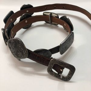Western choncho brown belt